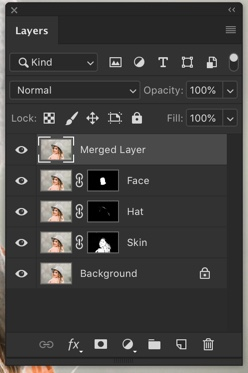 5-1 - How to Merge Layers in Photoshop Without Flattening Your Image