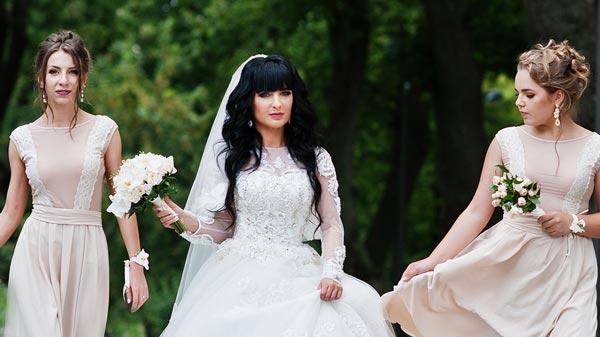 Girls Wedding Photoshop
