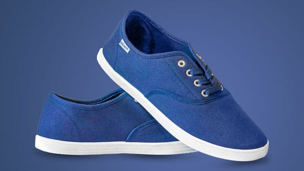 Filtered Blue Shoes
