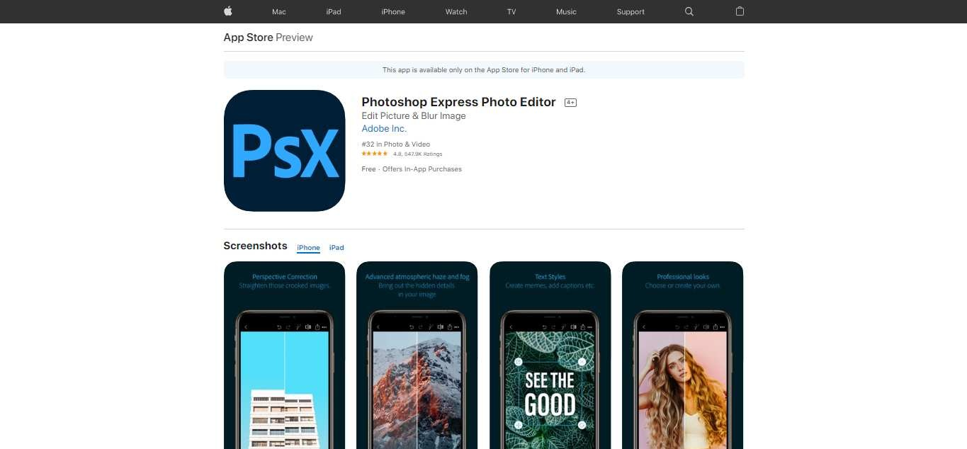 Best 25 Free Photoshop Apps in 2020 For Your Phone