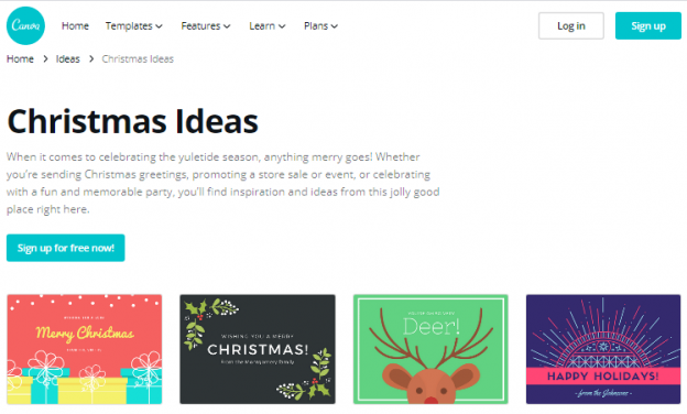 Top 7 Free Christmas Cards Designing Websites