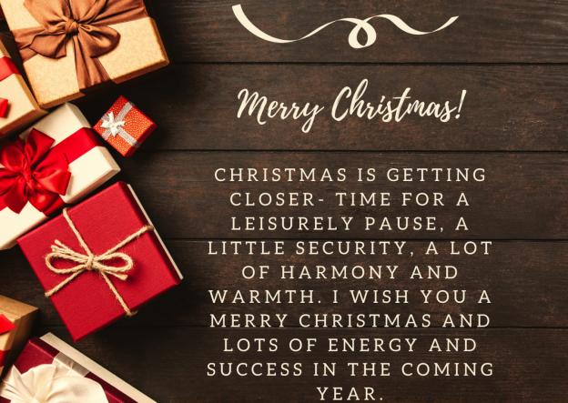 We wish you a merry Christmas full of security and warmth. For the coming year, bubbling creativity, clear goals, good luck, and the best of health. (2).png