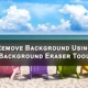 Remove Background using Background Eraser Tool in Photoshop