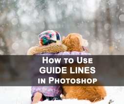 What are the Guide Lines in Photoshop